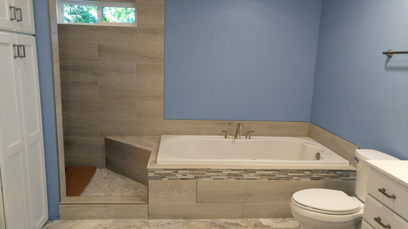 Fairfax Va Remodeled Bath