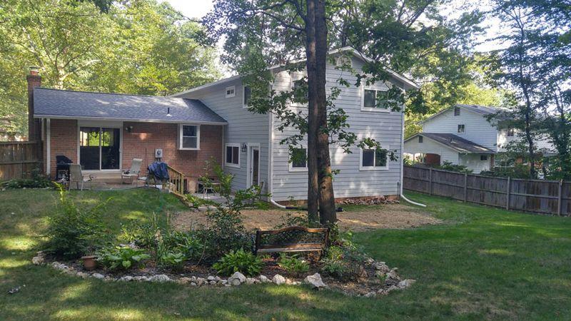 New home builder remodeling portfolio va thomas custom for Custom home addition