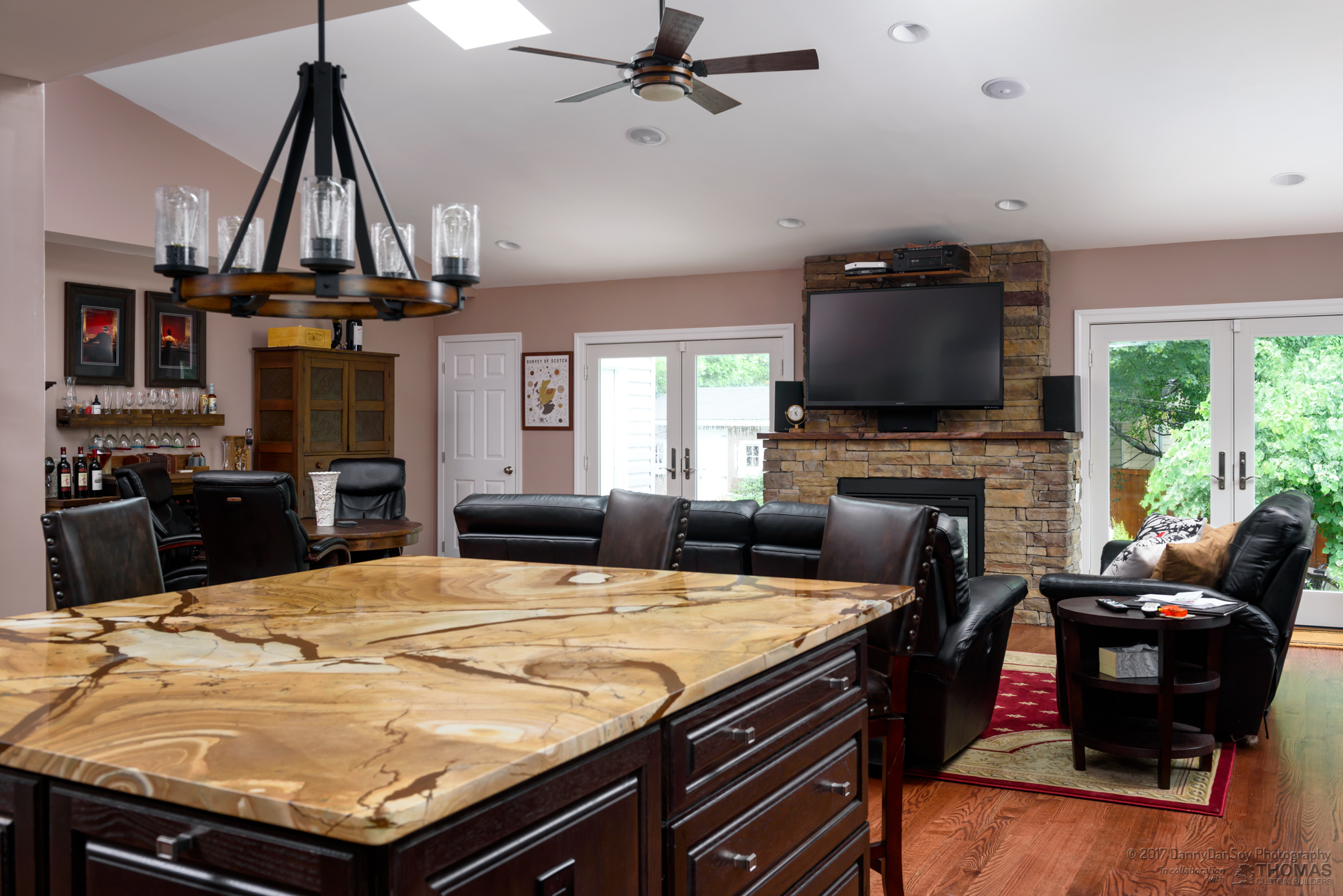 Falls Church-custom kitchen