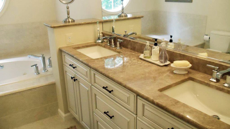 a beautiful Fairfax bathroom remodel