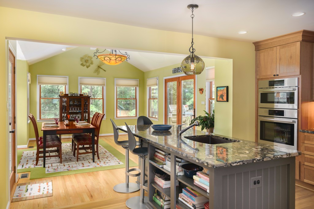 Morning room additions manassas fairfax alexandria arlington for Kitchen morning room designs