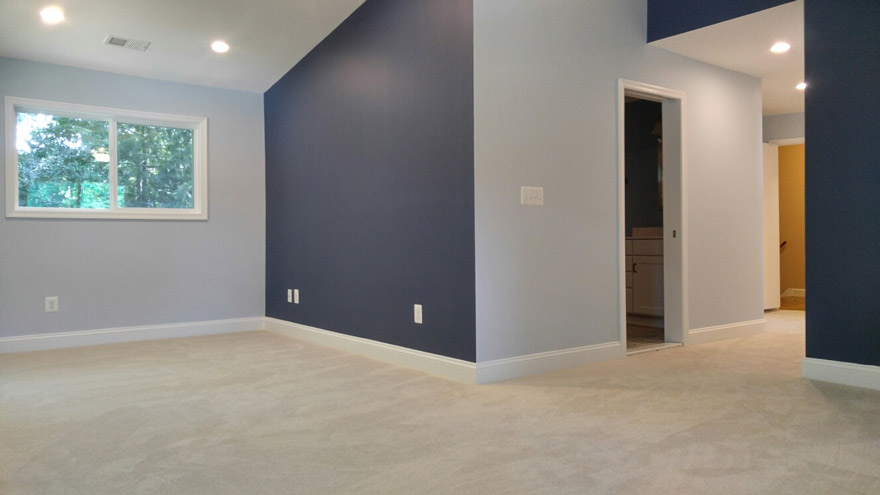 interior shot of Fairfax VA home addition