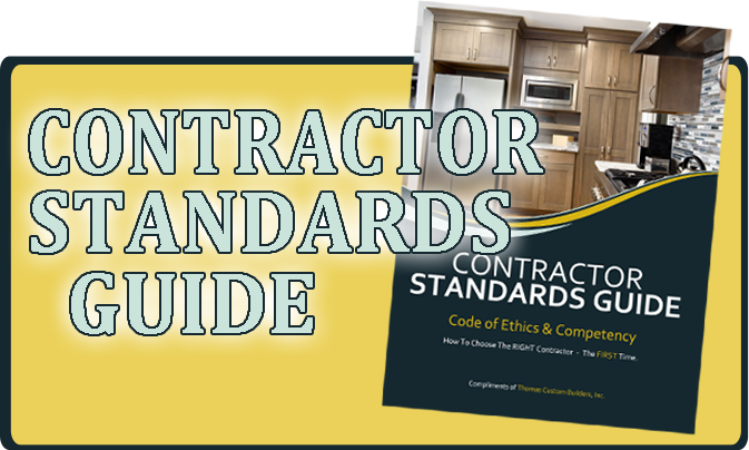 Contractor Standards Guide - Thomas Custom Builders