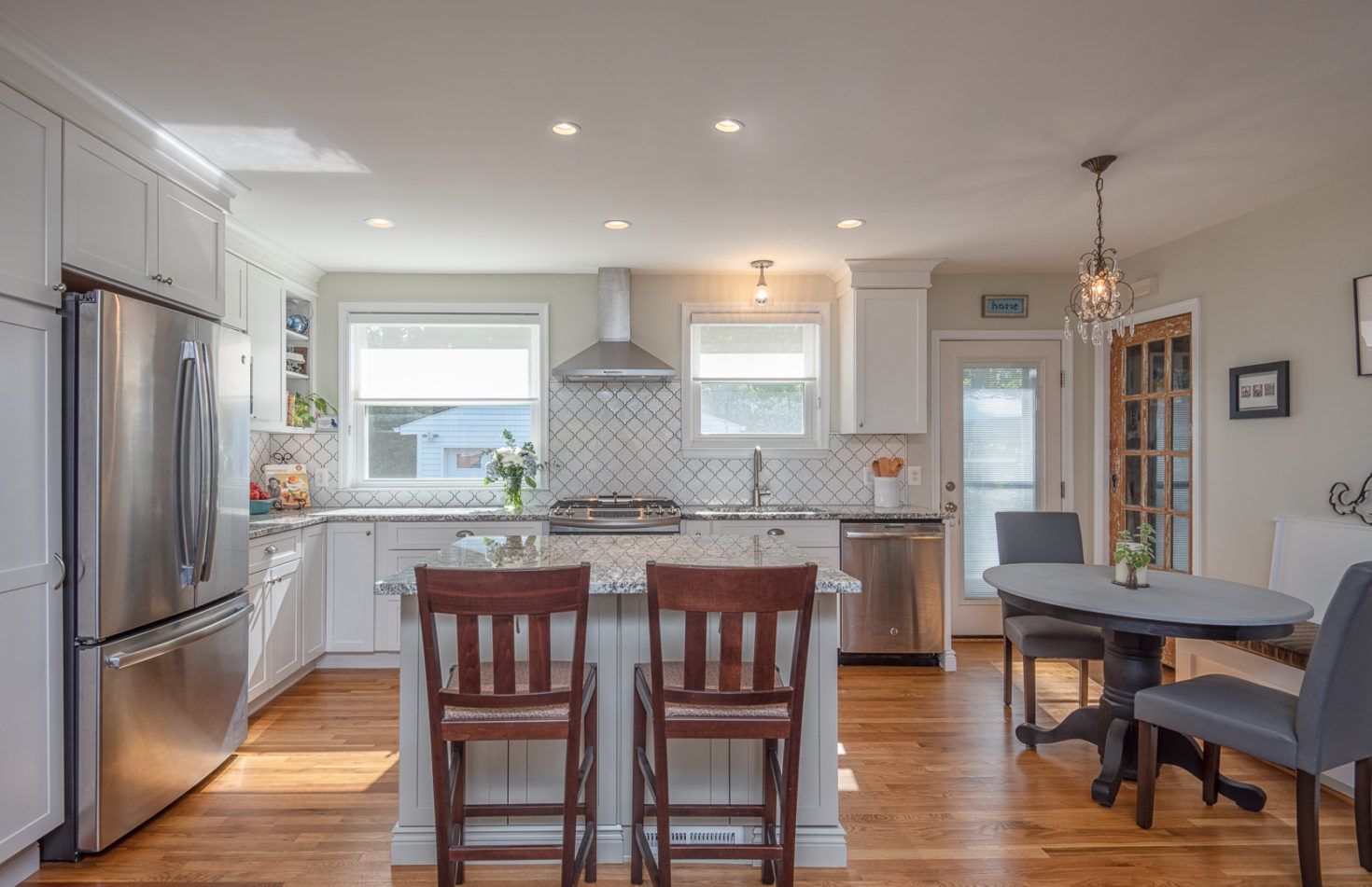 example of an $80,000 kitchen remodel in Fairfax, Virginia