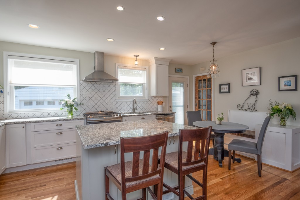 Open kitchen-dining remodel