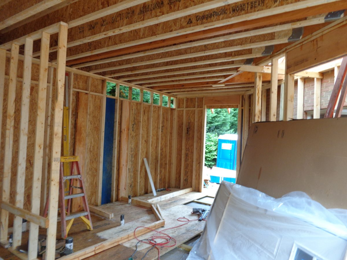 remodel in progress - tips for living through a home remodel