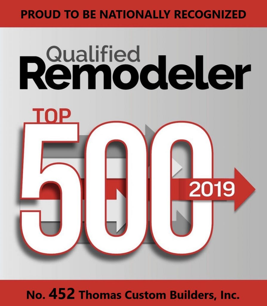 Qualified Remodeler Top 500 for 2019