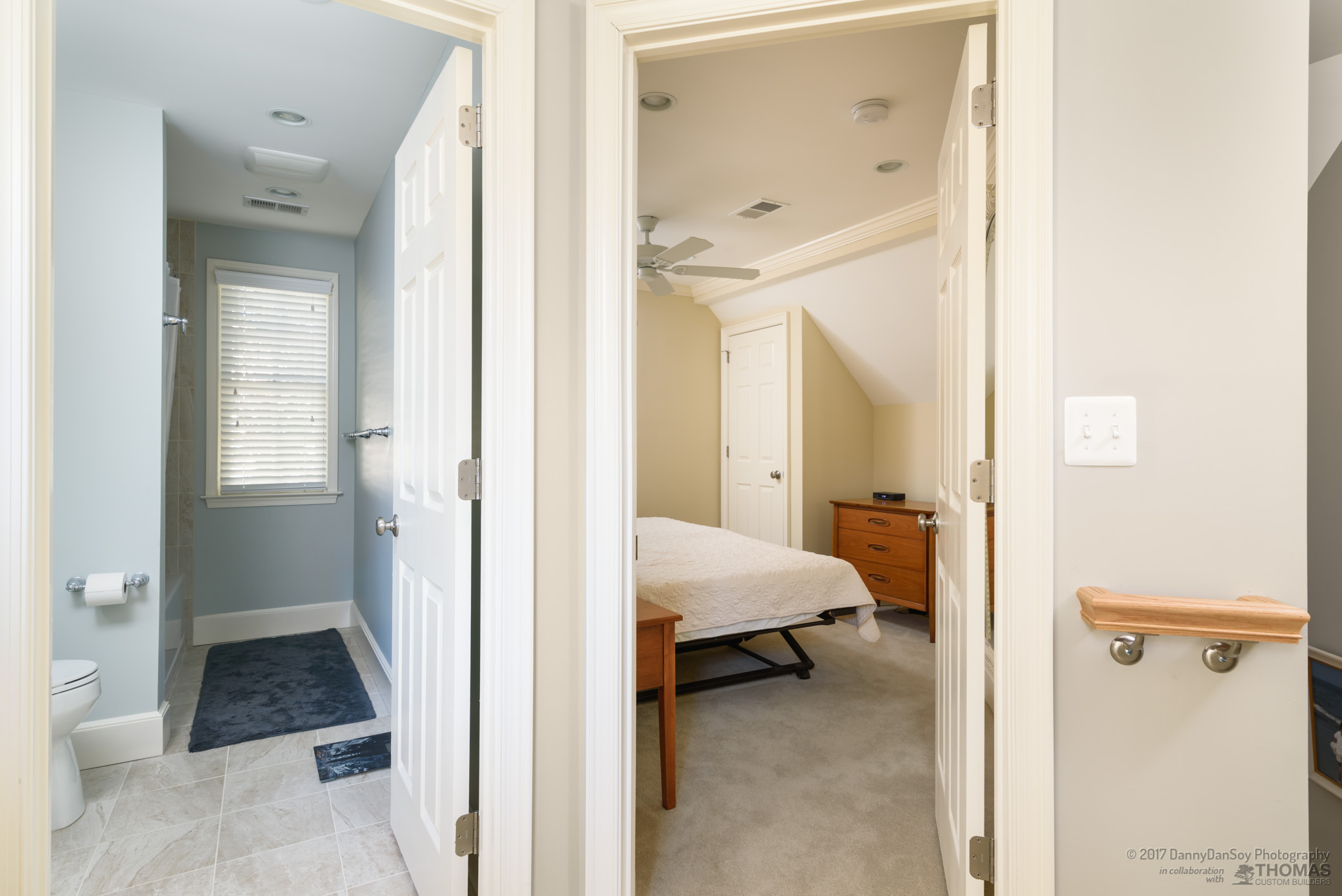 comfortable space for house guests
