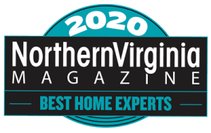 "NoVa Magazine ""Best of 2020"" contractors badge"