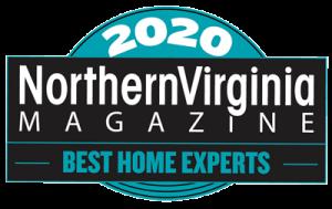 """NoVa Magazine """"Best of 2020"""" contractors badge"""